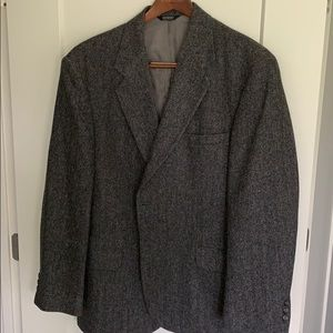 Brookleigh Gray Wool Sport Coat